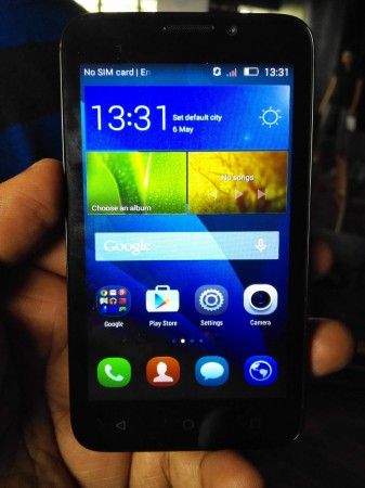 The Honor Bee features a 4.5-inch screen with 960x540 pixels resolution