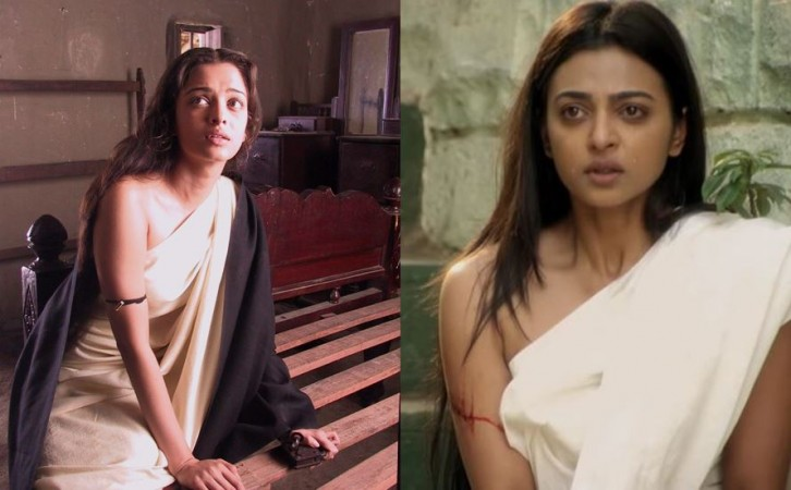 Aishwarya Rai Bachchan and Radhika Apte