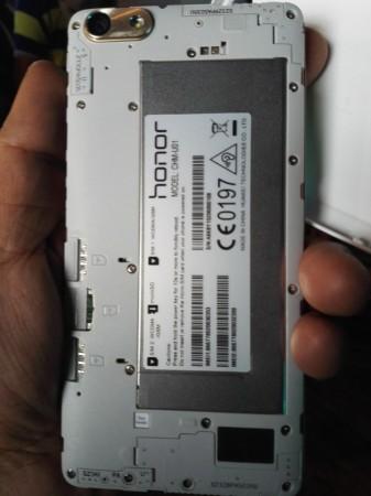 Huawei Honor 4C SIM slots and Battery
