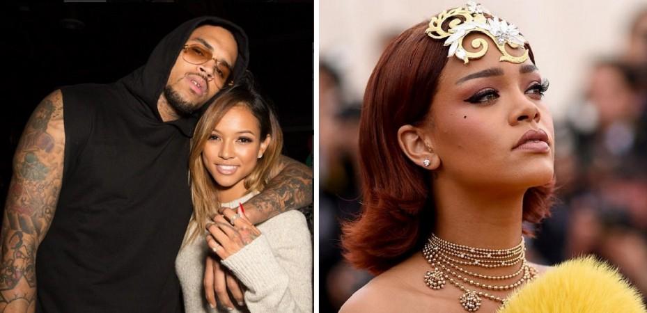 Rihanna, Chris Brown and Karrueche