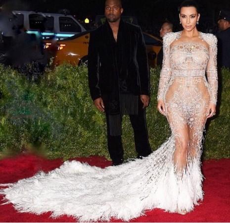 Kim Kardashian at Met Gala