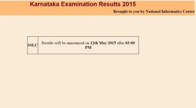 Karnataka SSLC Class 10 board exam result