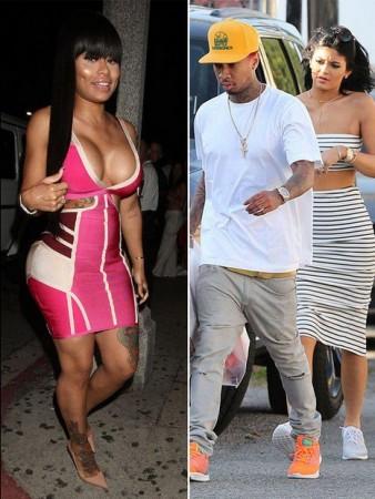 Black chyna, Tyga and Kylie Jenner
