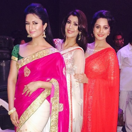 Anita Hassanandani, Divyanka Tripathi and Ankita Bhargava