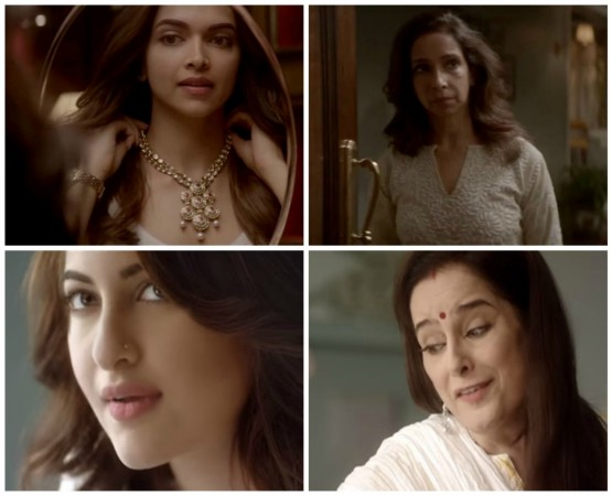 Deepika Padukone-Ujjala Padukone and Sonakshi Sinha-Poonam Sinha