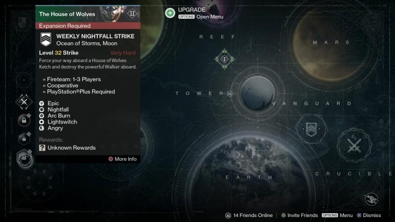 Destiny: House of Wolves Nightfall Strike Leaked
