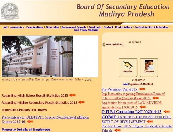 Board of Secondary Education Madhya Pradesh