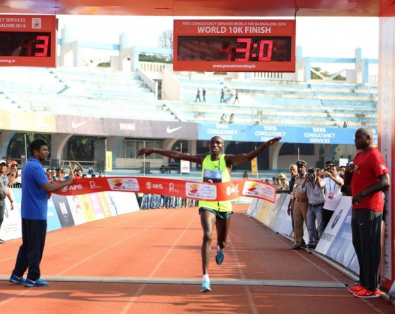 Geoffrey Kamworor Kipsang World 10k