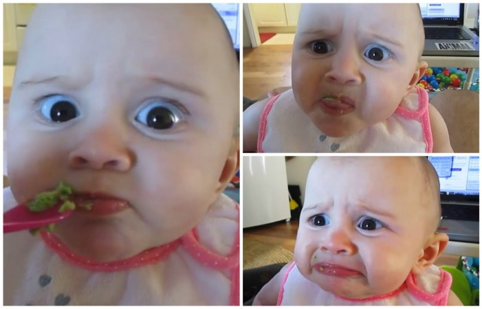 Baby eating avocado video goes viral