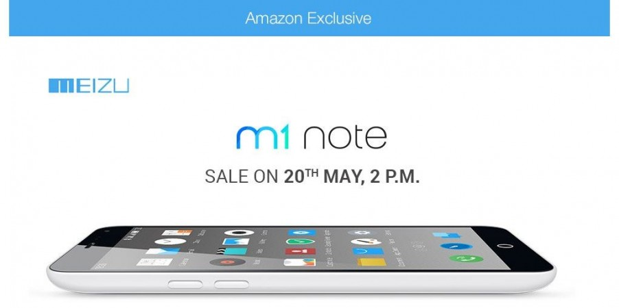 Meizu M1 Note Officially Launched in India; Open Sale to go Live on Amazon India This Week