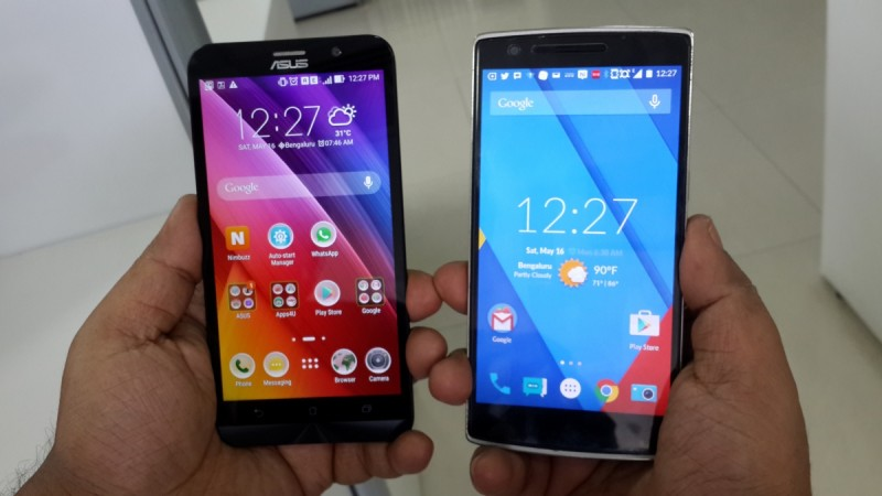 ASUS ZenFone 2 vs OnePlus One- OS