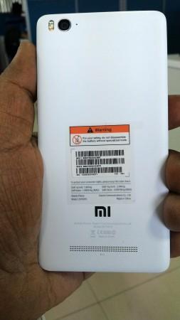 Xiaomi MI 4i Smartphone Rear