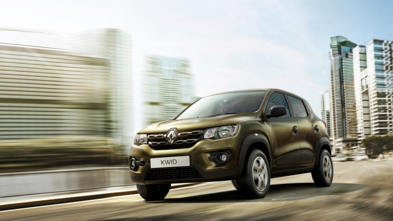 Renault's Small Car 'Kwid'