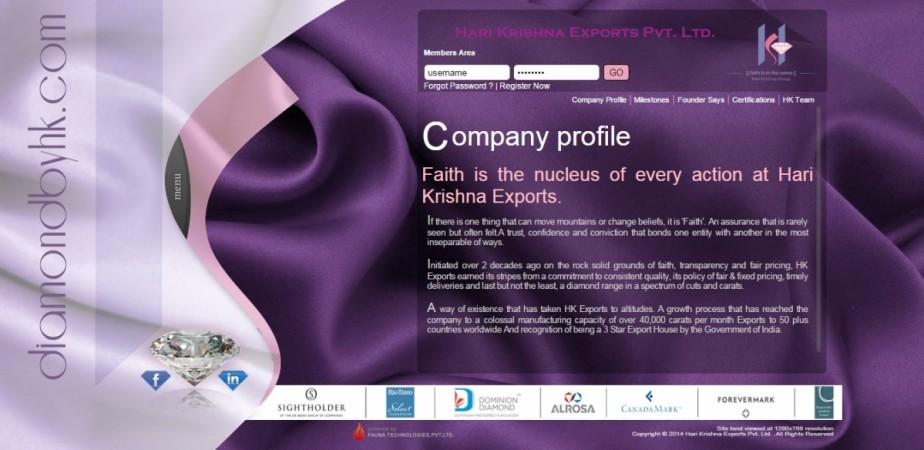 Hari Krishna Exports Pvt Ltd