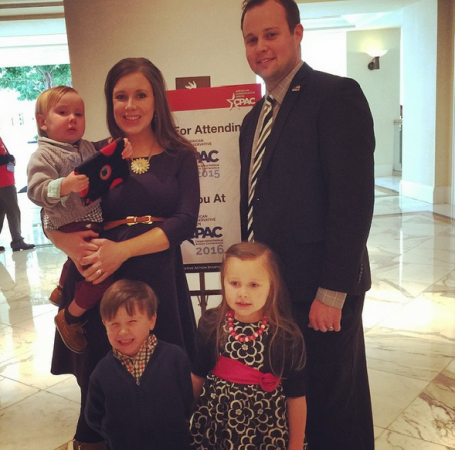 Josh Duggar and family