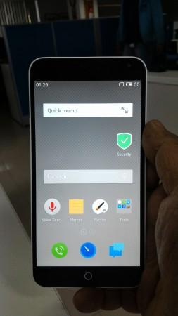 Meizu M1 Note front