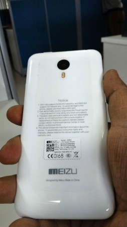 Meizu M1 Note rear