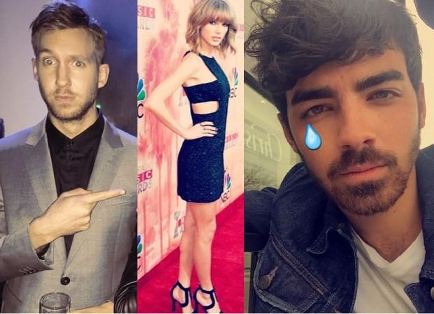 Calvin Harris, Taylor Swift and Joe Jonas