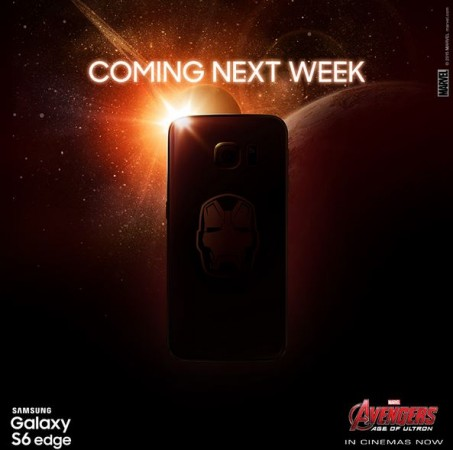 Limited Edition Samsung Galaxy S6, S6 Edge Iron Man Series Set for Release Next Week