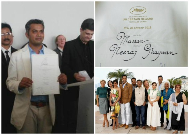 'Masaan' wins two awards at Cannes 2015