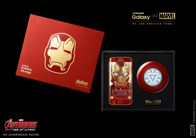 Samsung Unveils Limited Edition Marvel Avenger Series Galaxy S6 Edge Iron Man