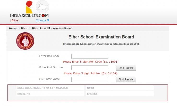 Bihar Class 12 Commerce Board Results 2015 Declared