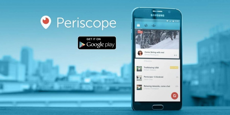 Twitter Launches Periscope, Free to Download Video Broadcasting App in Google Play Store
