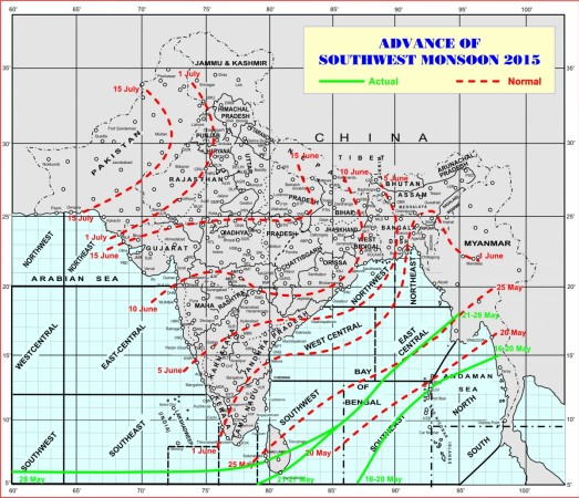 Monsoon to hit Kerala on Saturday