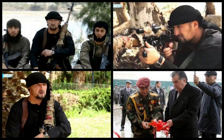 Colonel Gulmurod Khalimov, chief of Tajikistan's paramilitary police unit (OMON) has joined Isis