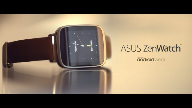 ASUS Launches Zenwatch 2 at Computex 2015