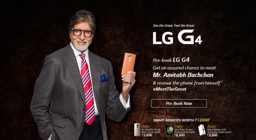 LG G4 Price Revealed; Pre-Order Service Goes Live in India