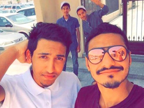 Mohammed Hassan Ali bin Isa and Abdul Jalil al-Arbash (Right) posted a selfie minutes before the suicide attack.