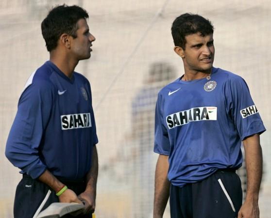 Rahul Dravid Sourav Ganguly