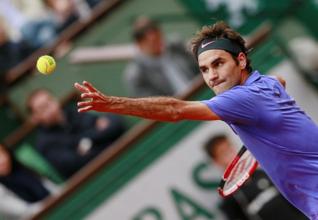 Roger Federer French Open 4th Round