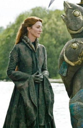 Catelyn Stark (Michelle Fairley) in a still from 'Game of Thrones'