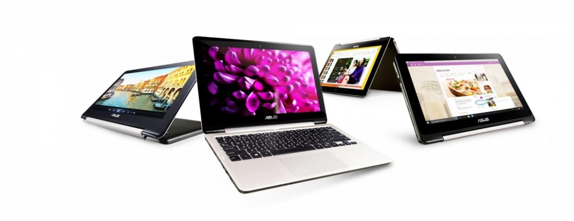 ASUS Launches Transformer Book T100HA and Flip TP200 convertible laptops at computex 2015