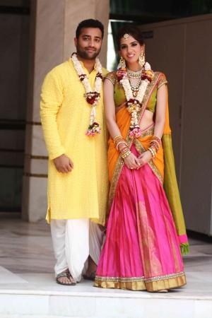 Nishka Lulla –Dhruv Mehra Wedding
