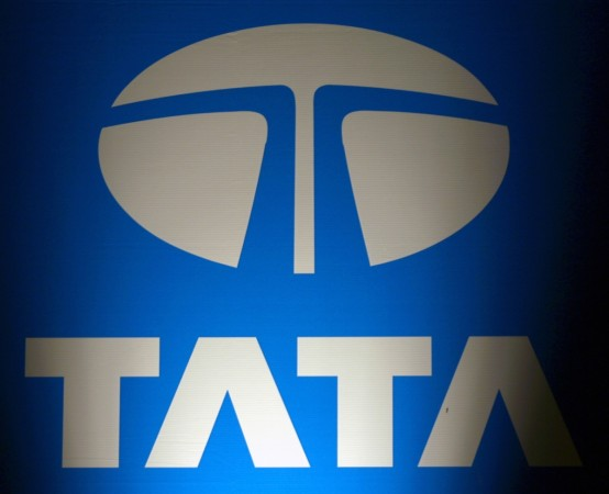 The logo of Tata Group