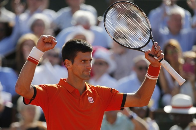 Novak Djokovic French Open 2015 Quarterfinal