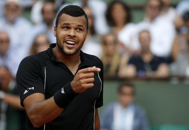 Jo-Wilfried Tsonga French Open 2015 Quarterfinal
