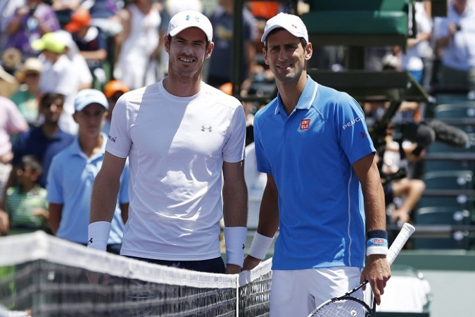 Andy Murray Novak Djokovic