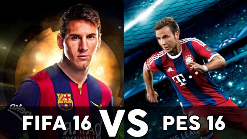 FIFA 16 Vs PES 2016