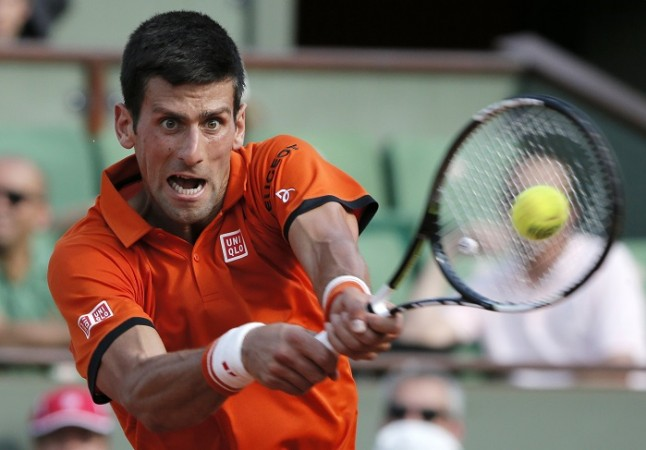 Novak Djokovic French Open 2015 Semifinal