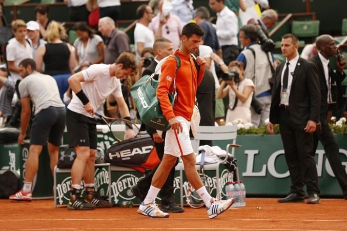 Andy Murray Novak Djokovic French Open 2015 Semifinal