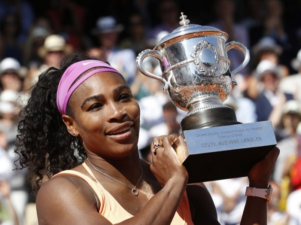 Serena Williams French Open 2015 Title