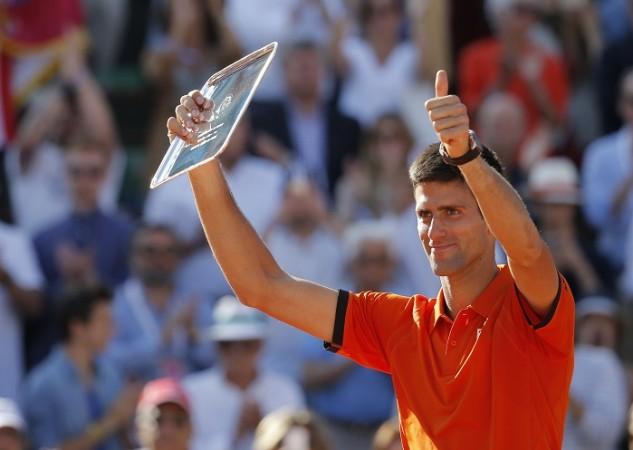 Novak Djokovic French Open 2015 Final Runner-up Trophy