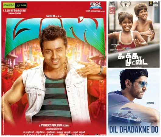 'Masss' Beats 'Dil Dhadakne Do', 'Kaaka Muttai' in Chennai