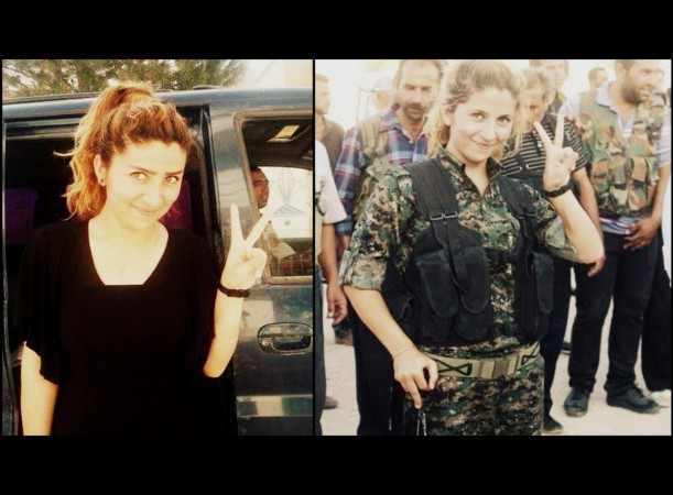 Kurdish Female Warrior 'Rehana who Killed 100 Isis fighters is alive and was recently spotted in Kobane
