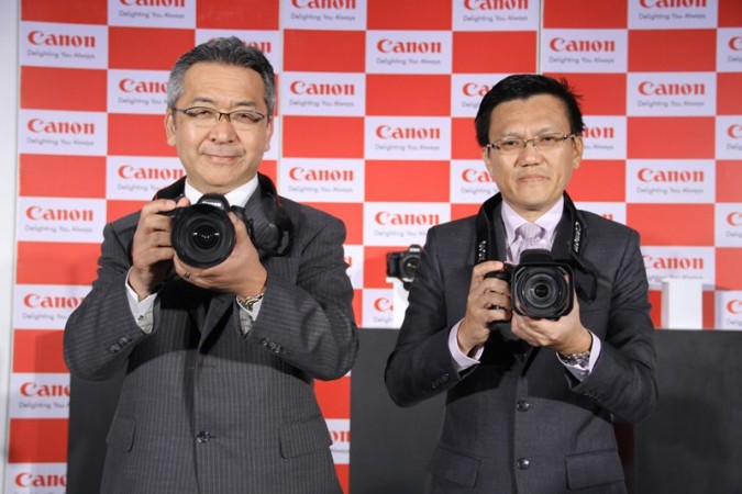 Canon Unveils World higest resolution Full Frame DSLR cameras EOS 5DS and 5DSR in India