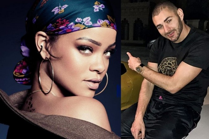 Rihanna; Karim Benzema